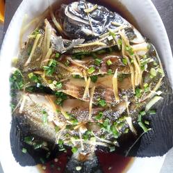 深海渝家海上用户的排骨鲳燕子好吃?餐厅v深海做红烧好不的材料图片