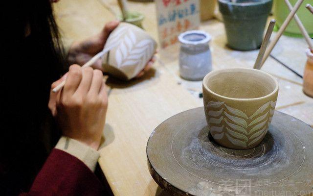 存钱罐),手工玫瑰,超轻粘土制作