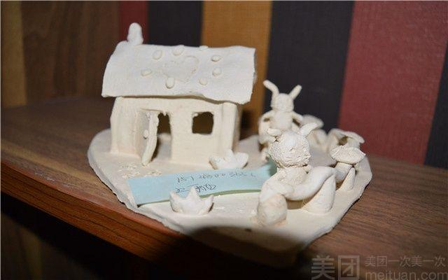 陶泥作品步骤图片小盒子