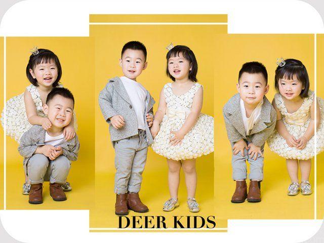 :长沙今日团购:【DEERKIDS(长沙总店)】双人组合拍摄套系!记录的是纯真的笑。留住的是那回不去的小时候