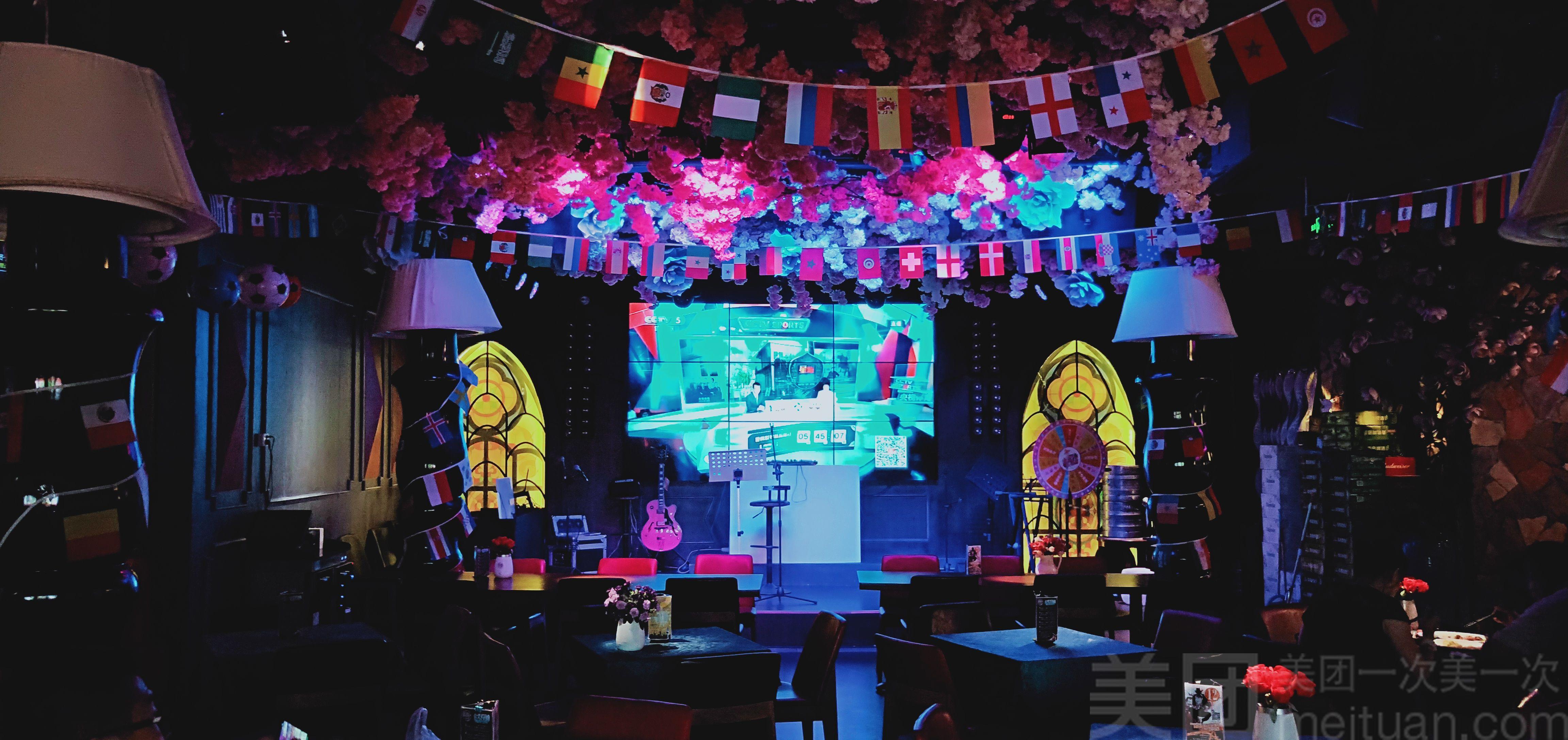 世界杯酒吧_【墨啡精致餐酒吧·私享影院】【世界杯直播】百威,海鲜套餐