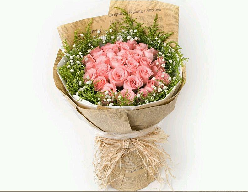 长沙美团网团购 【木石花舍】33支玫瑰花束  分类:鲜花婚庆 商圈