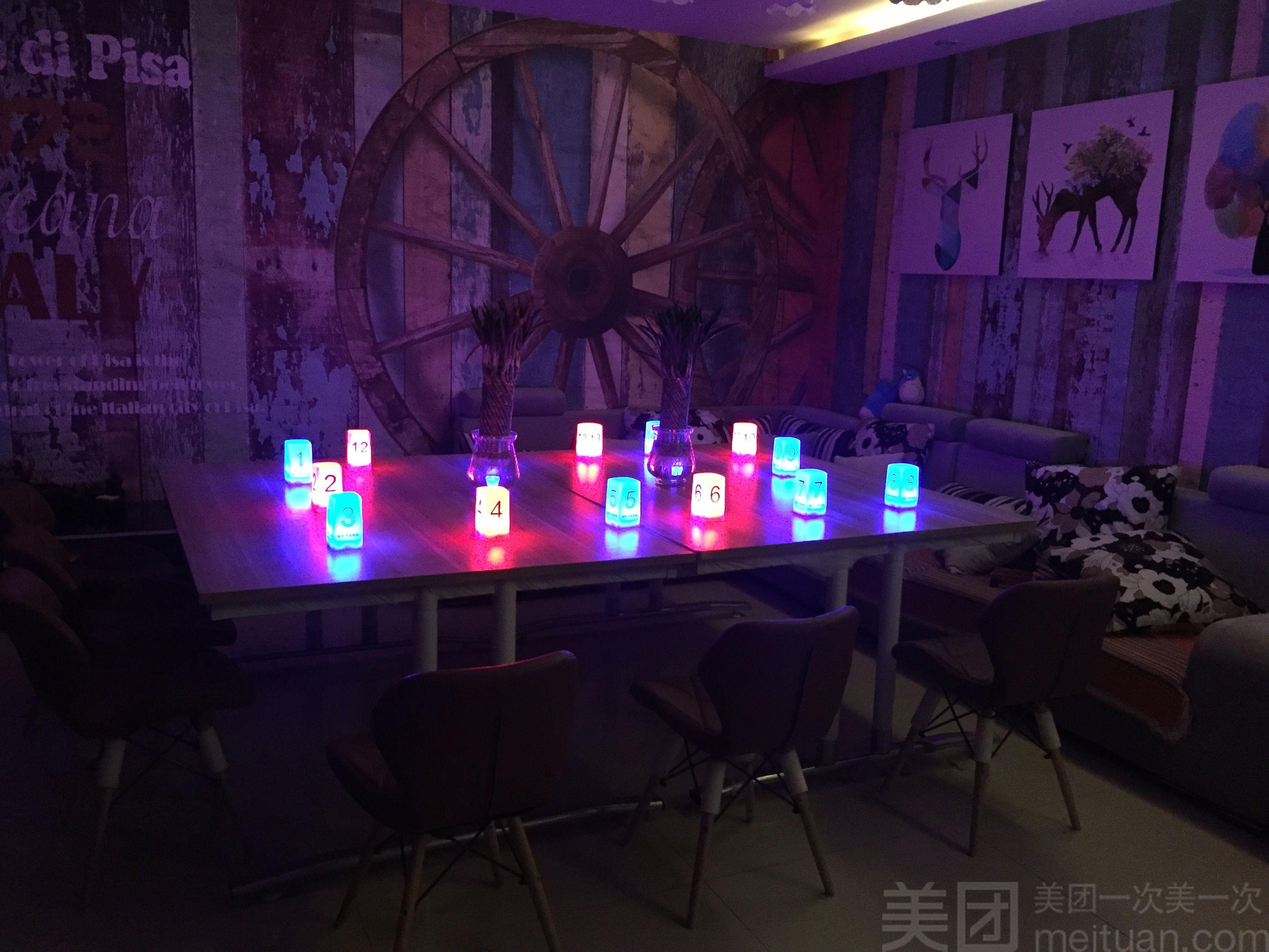 狼牙月狼人杀主题桌游吧(万达广场店)-美团