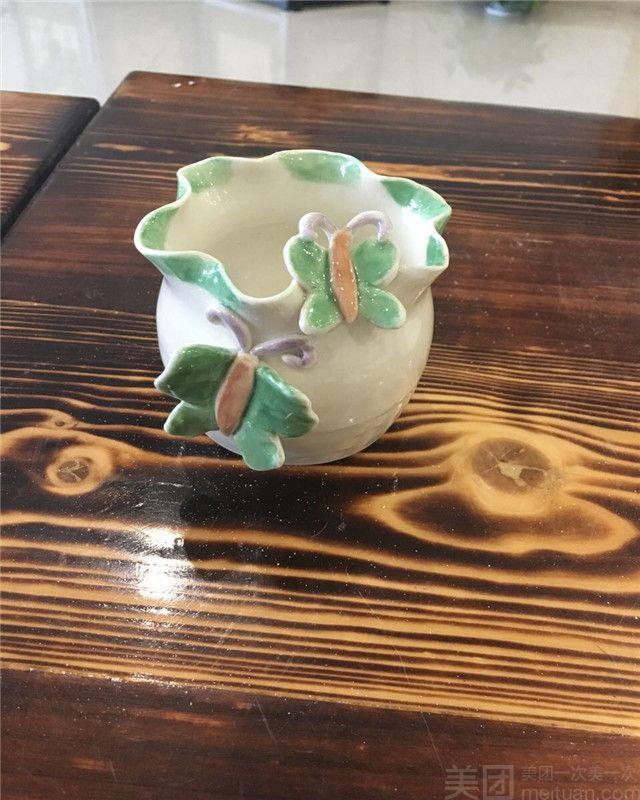 陶艺几何动物形