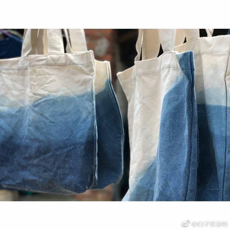 :长沙今日钱柜娱乐官网:【S小姐扎染坊】手工植物扎染帆布包DIY