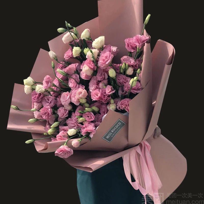 【唯爱鲜花屋】桔梗大花束