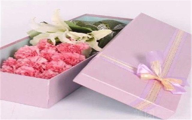 长方形卡通 花束礼盒 25朵仿真玫瑰花束 香皂花礼盒创意礼物,图片尺寸
