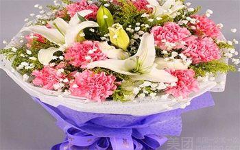 【蚌埠等】玫瑰花香鲜花速递-美团