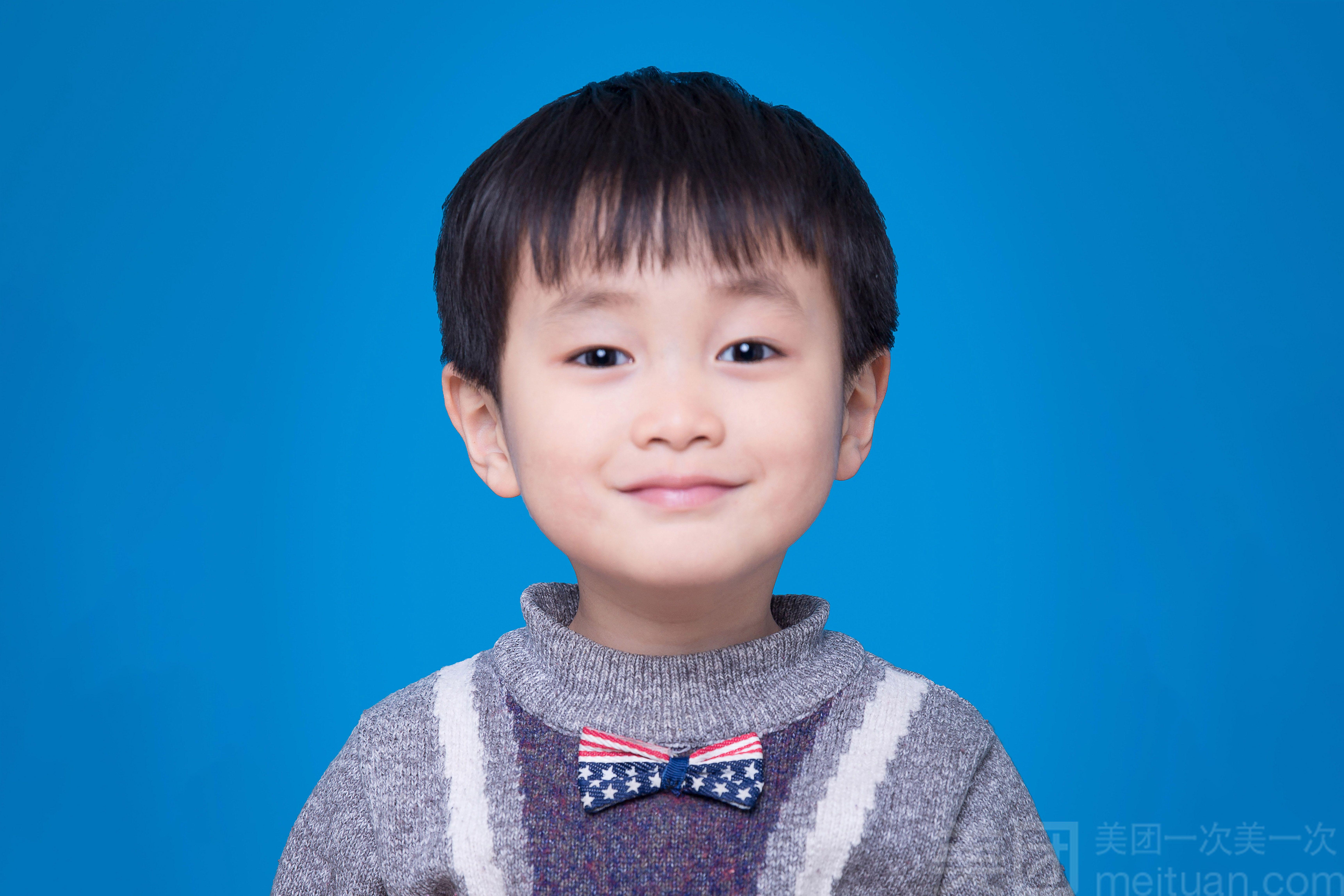 【小熊猫儿童摄影】证件照
