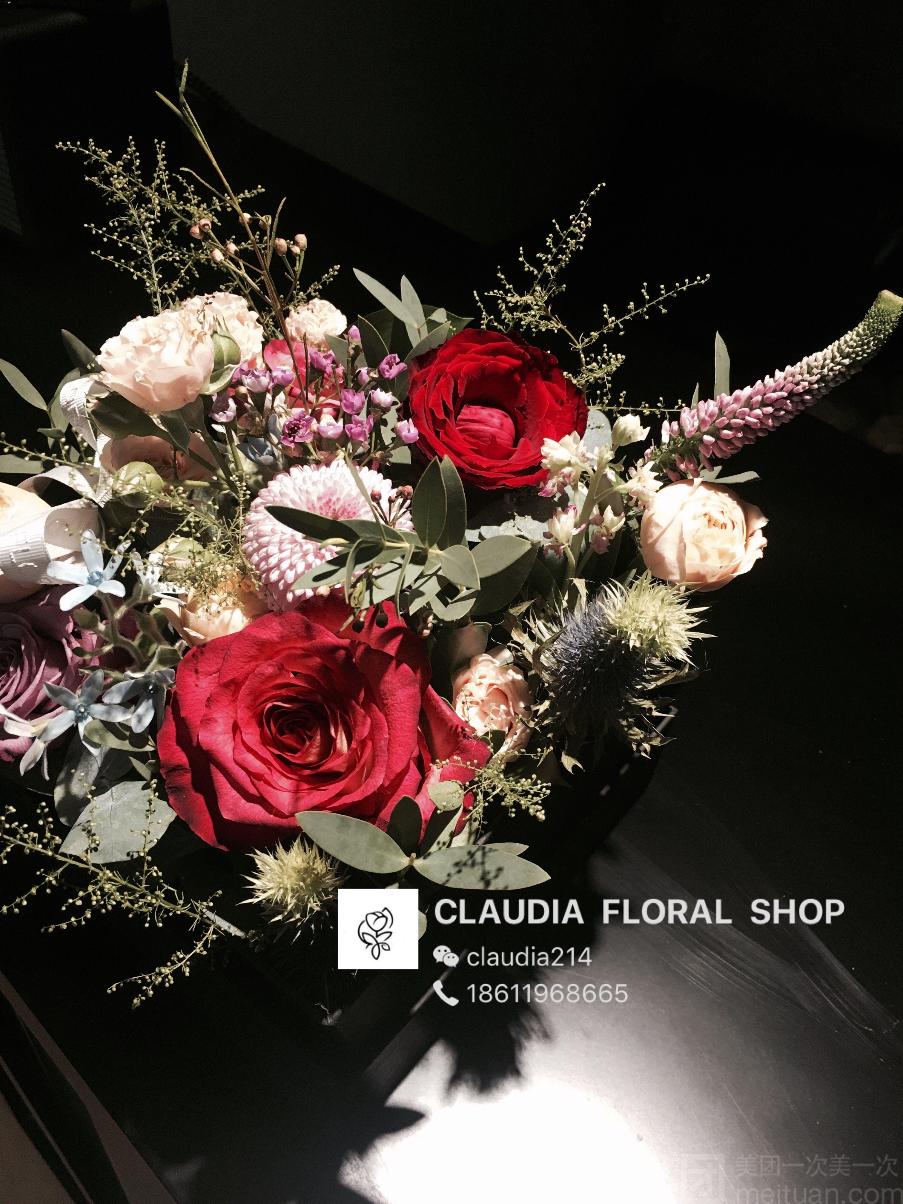 claudia花艺怎么样_团购claudia花艺-鲜花花盒()-美团图片