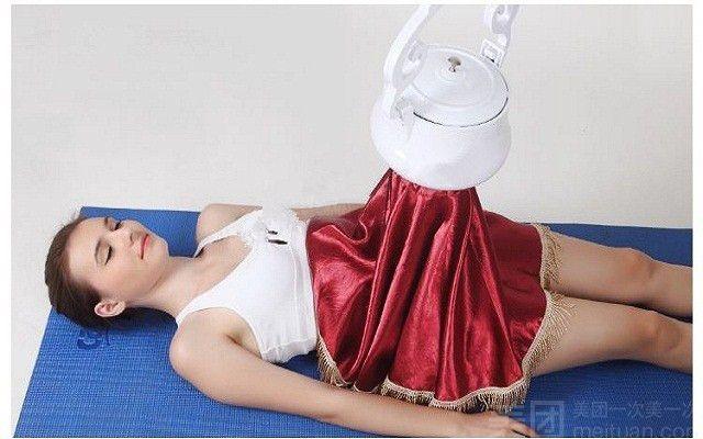 :长沙今日团购:【皇家名媛美容养生会所】仪器艾灸一次+ 洗脸