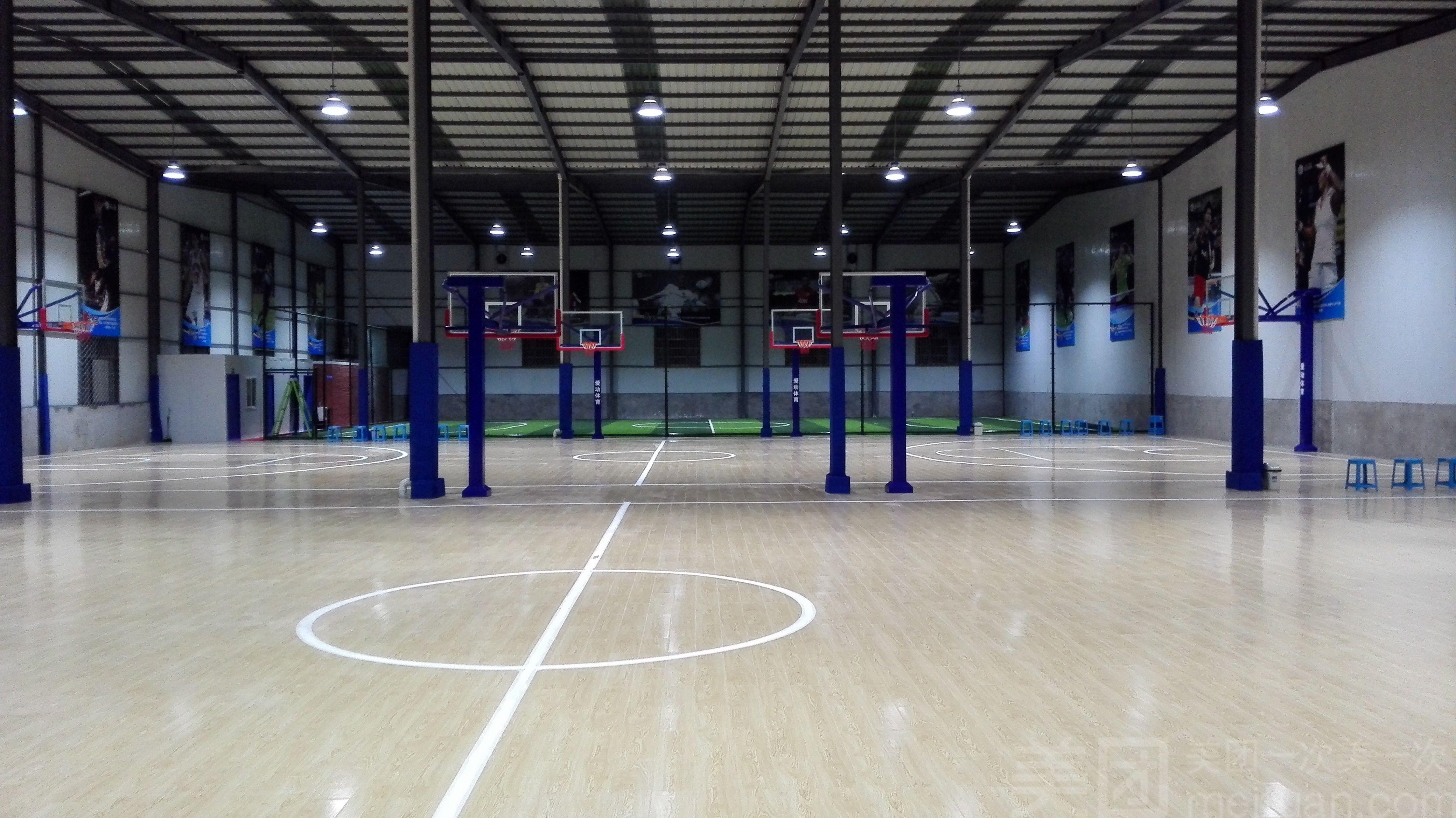 爱动篮球足球运动中心-美团