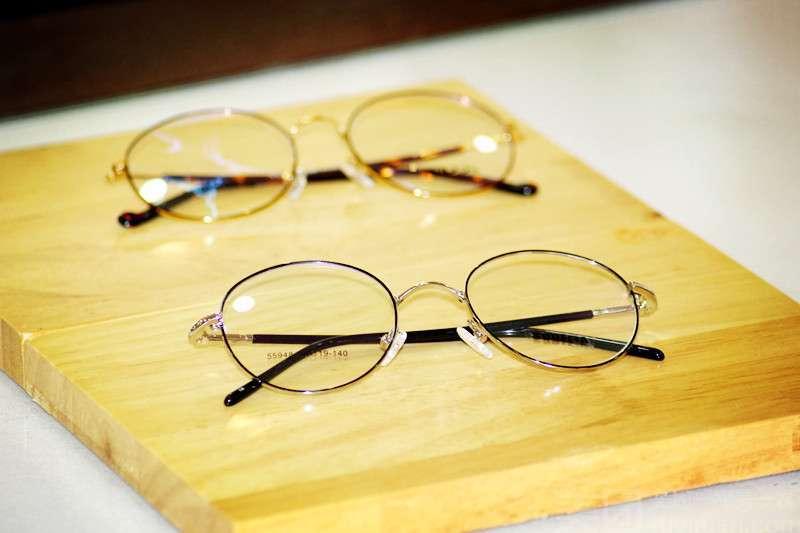 :长沙今日团购:【见明眼镜】法利兰钛架+非球面镜架