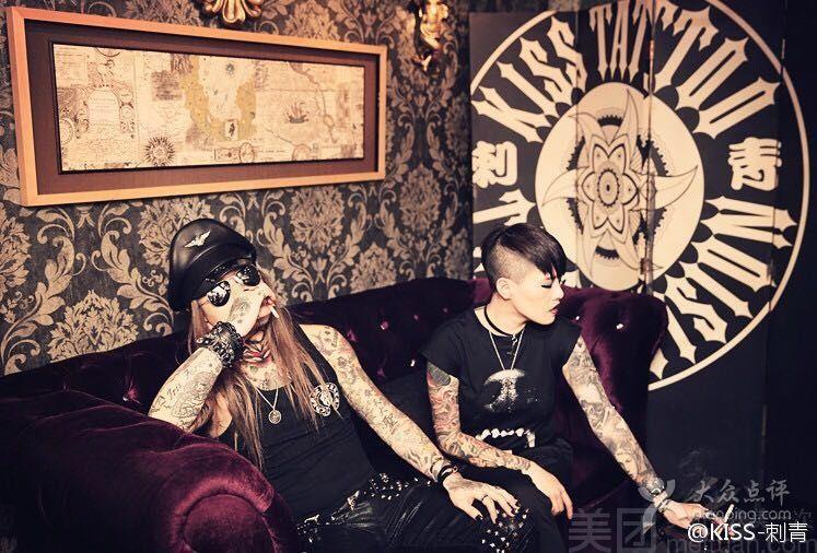 KISS TATTOO 专业纹身店-美团
