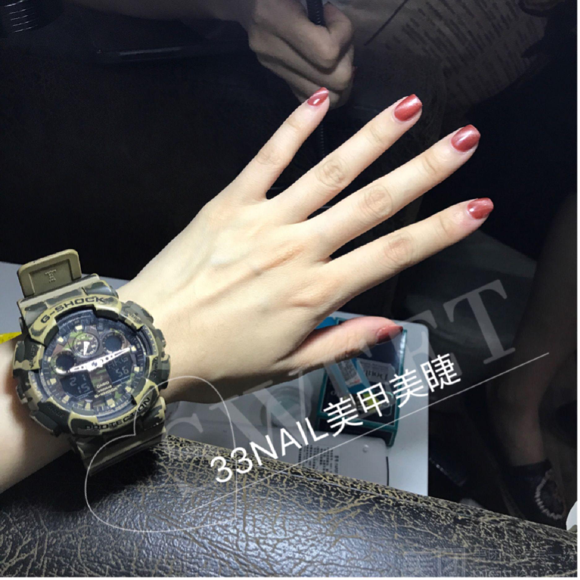:长沙今日团购:【33NAIL美甲美睫】日式时尚任意款