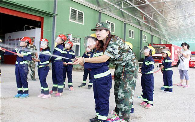 亲子消防拓展训练营-美团