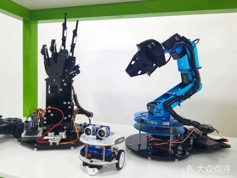 数学立体图形手工制作机器人