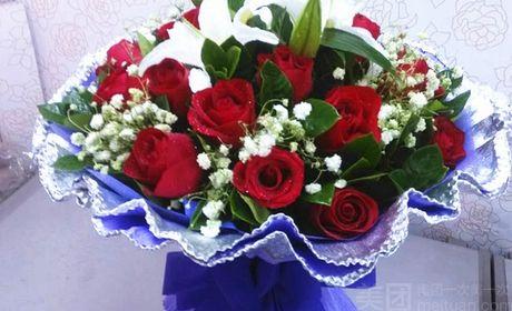 朵可可鲜花店 天长地久永不分离生日鲜花纪念日鲜花 美团网