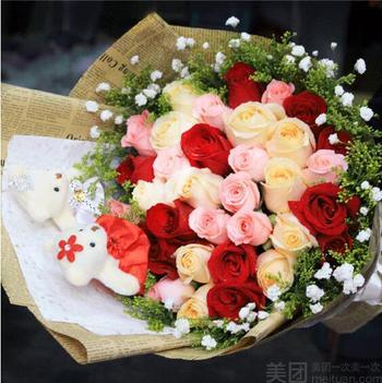 【北京等】鲜花花语传情-美团