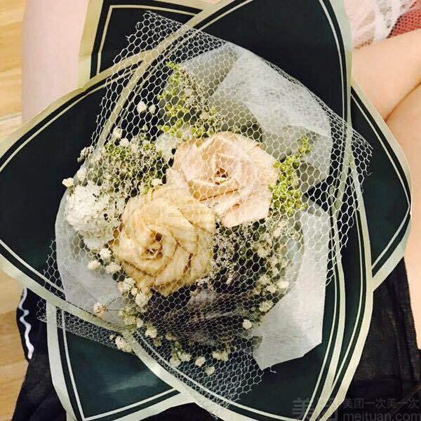 :长沙今日钱柜娱乐官网:【YOU ME WE 手作工坊】木艺玫瑰花束DIY
