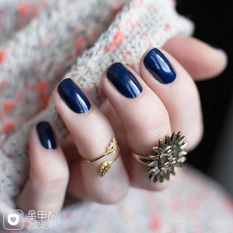 :长沙今日钱柜娱乐官网:【八田日美甲纹绣】单人精致时尚单色美甲
