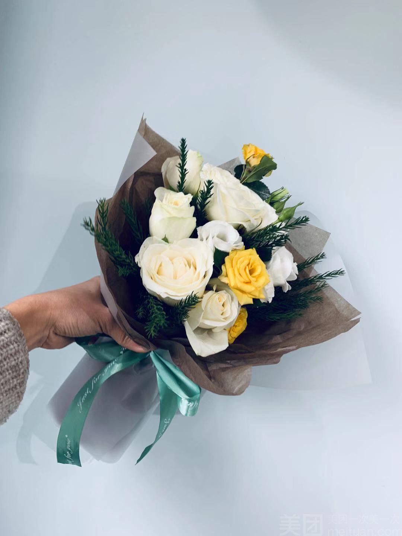 【花心苑花店】韩式小清新花束