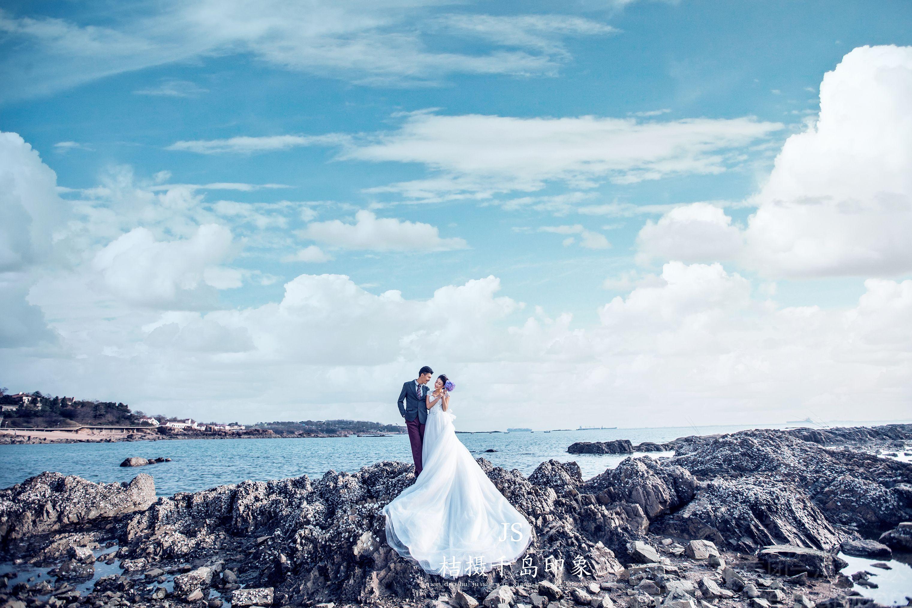 桔摄千岛印象婚纱摄影-美团