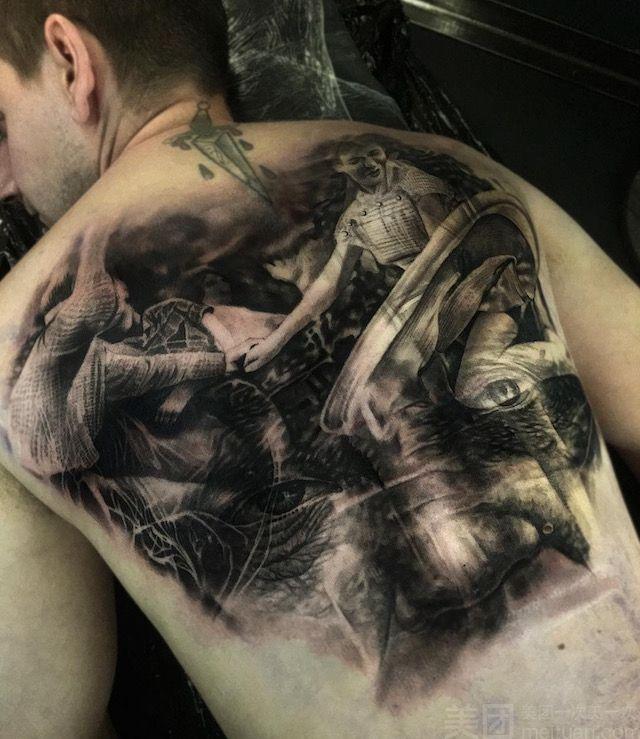 全世界纹身最多的人_纹身怎么样_团购纹身-单人花臂或满背二选一-美团网
