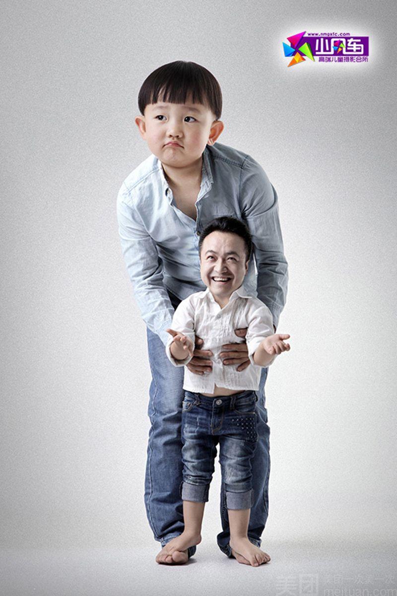小风车专业儿童摄影(阿尔泰店)-美团