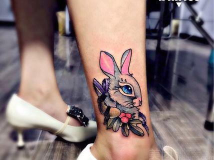 k刺青k刺青-8*8cm彩色纹身图案 保养膏-北京美团网