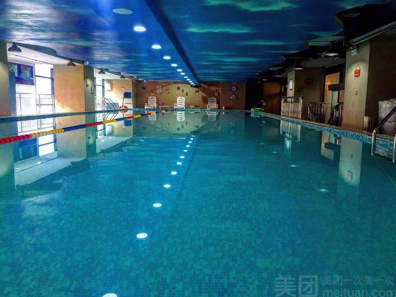 美团网:长沙今日游泳团购:【摩尔国际健身俱乐部】青少年游泳健身培训