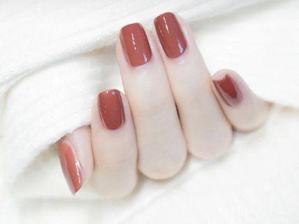 visa美容美甲visa美容美甲-单人日式纯色美甲一次