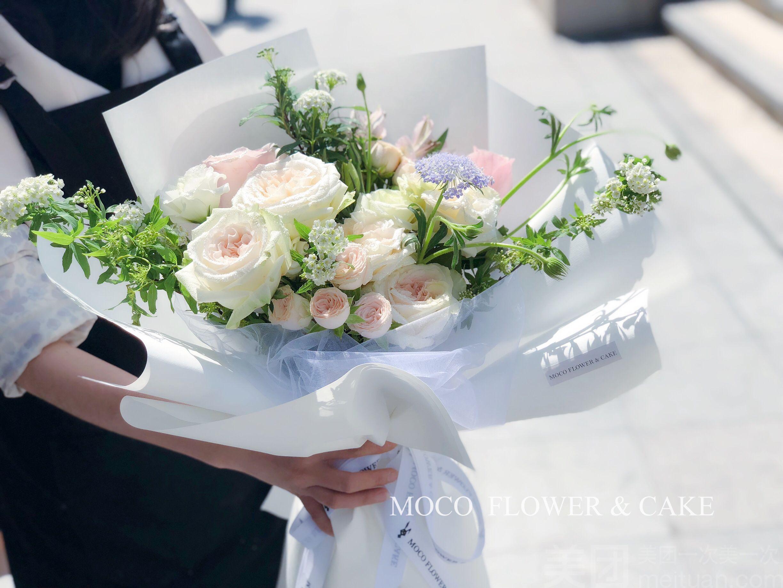 【moco 莫可花艺】韩式清新小花束
