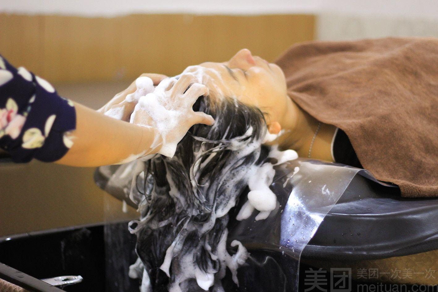 :长沙今日团购:【欧泉造型】单人泰式洗发