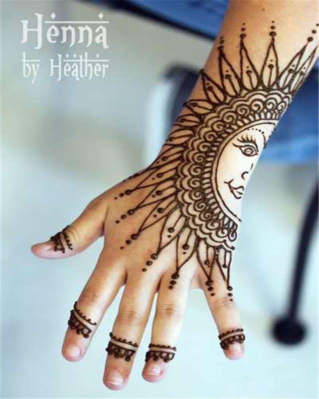 【印度海娜手绘团购】西安印度海娜手绘-单人印度海