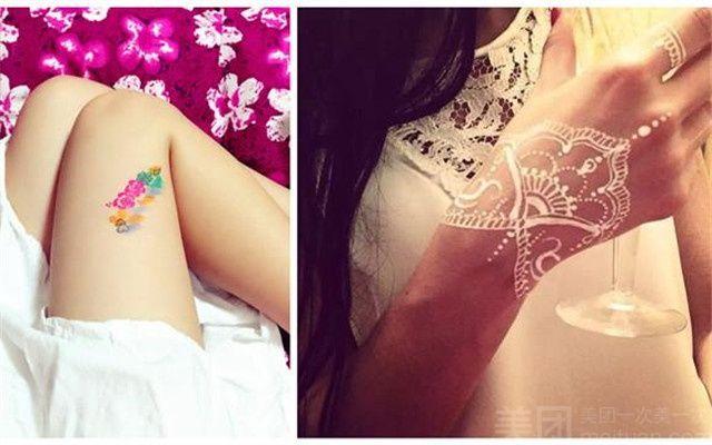 【梵景·印度海娜手绘纹身工作室团购】西安梵景·海
