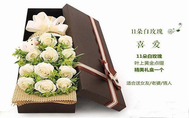 吾爱鲜花(阳光花坊店)-美团