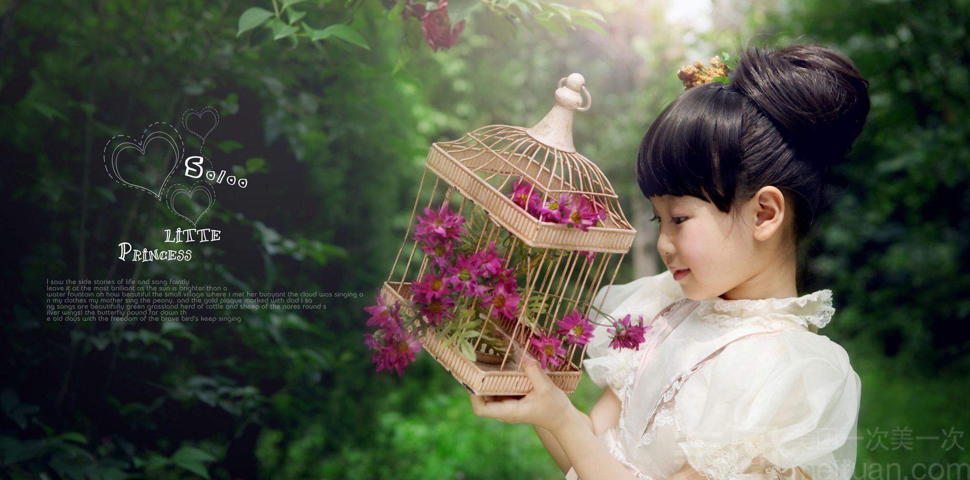 【宝贝世界韩式儿童摄影】纯外景拍摄