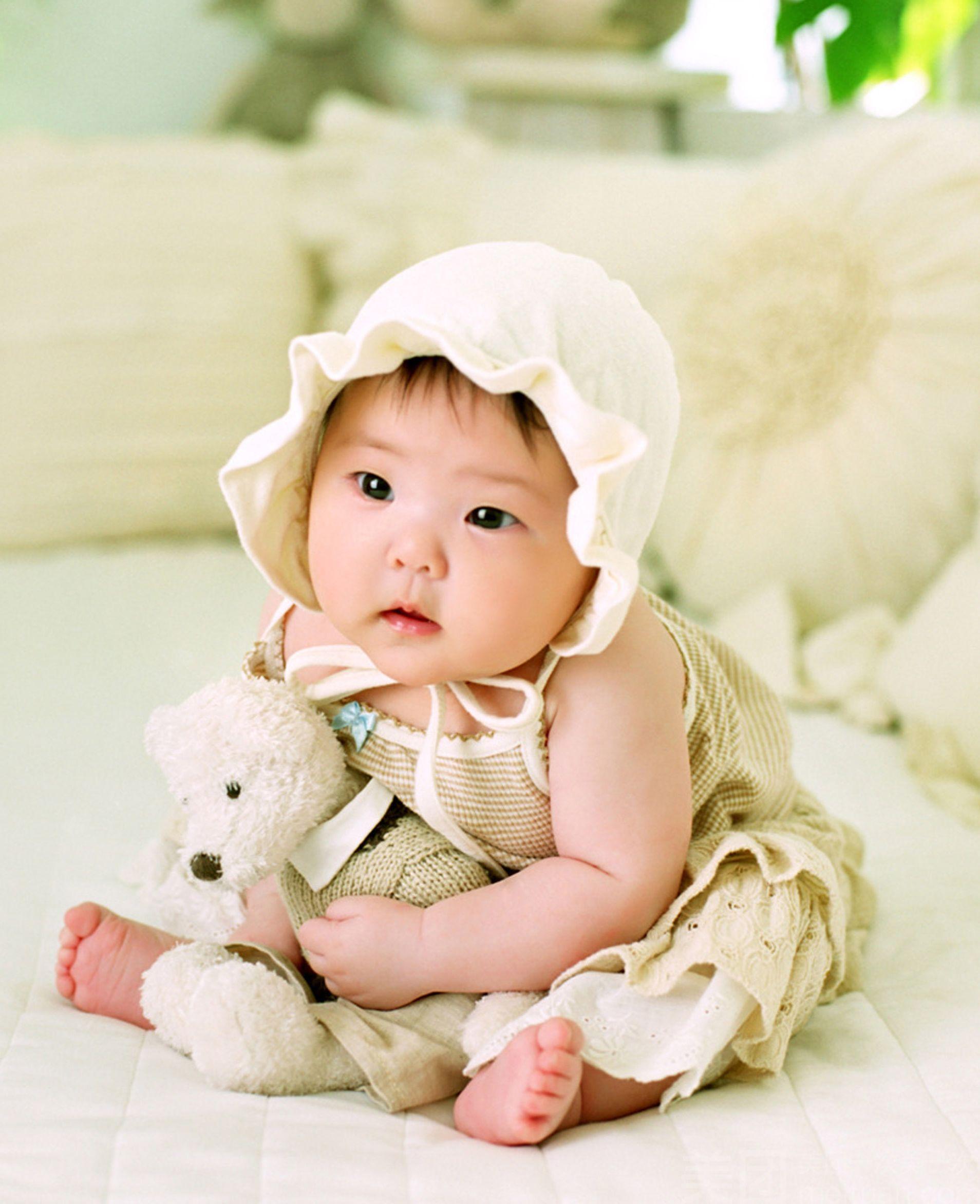一对可爱孩子图片