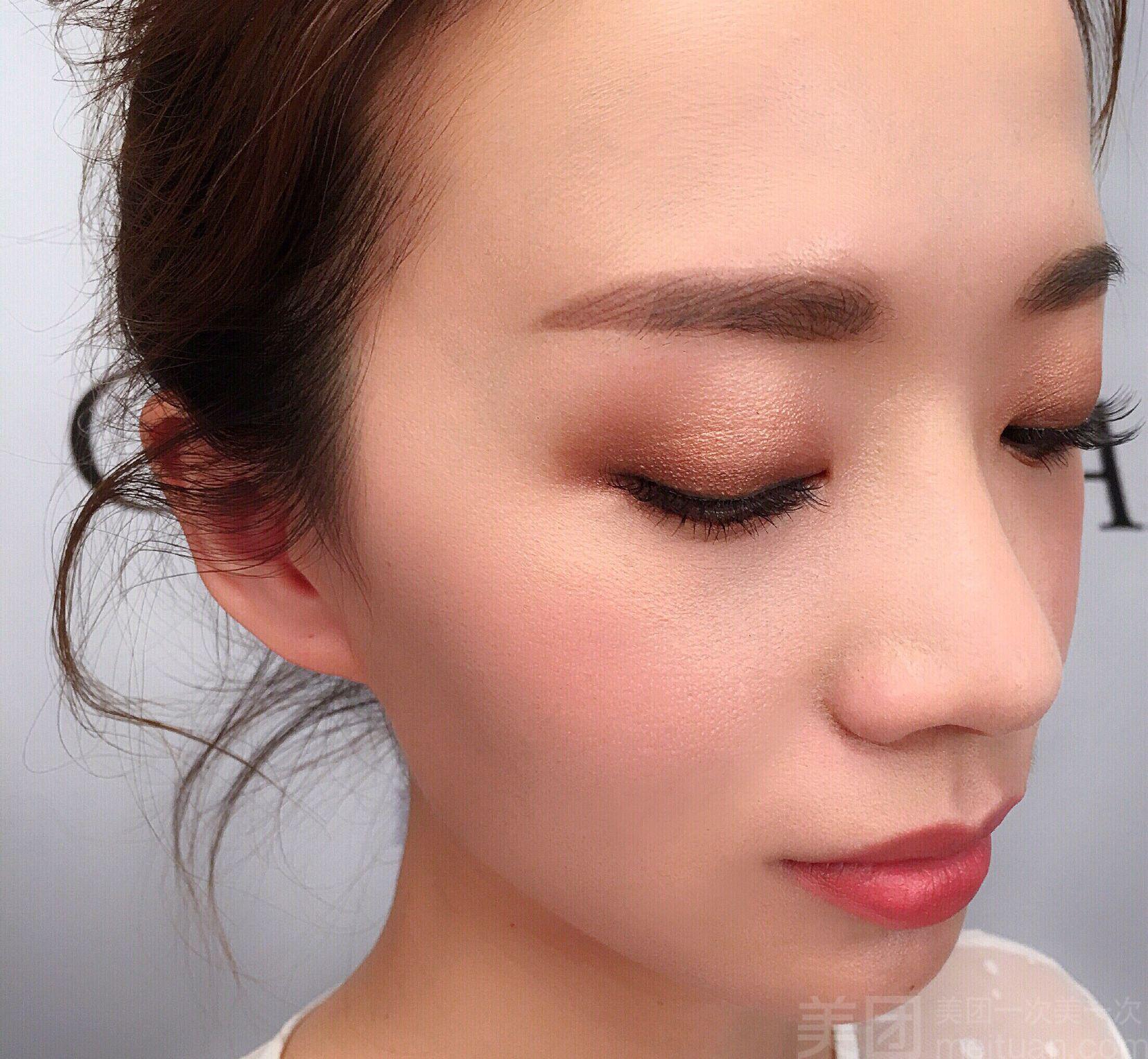 :长沙今日团购:【Miss U美甲美睫化妆半永久工作室】单人眉形设计定妆