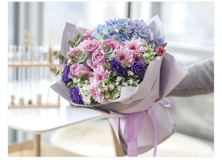 千寻鲜花怎么样_团购千寻鲜花-韩式小清新花束玫瑰3选