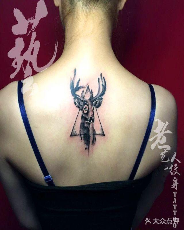 [鹿都国际商业广场] 老艺人纹身图片