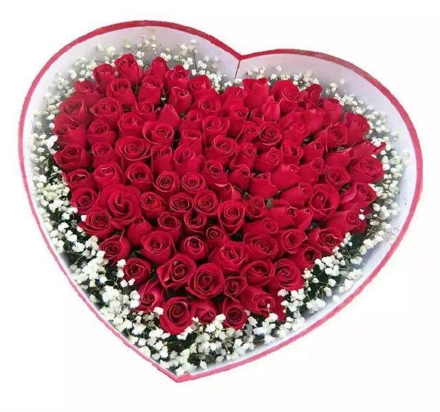 :长沙今日团购:【祥诚花艺】99朵盒装红玫瑰