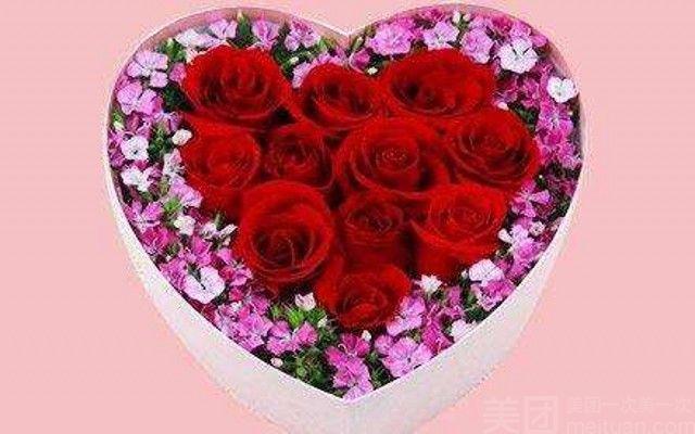 :长沙今日钱柜娱乐官网:【喜约花屋】11支玫瑰花礼盒