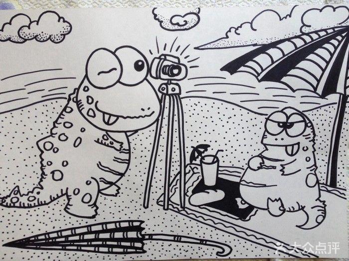 教学内容:静物线描/风景线描/动物线描/写生创作 专业绘画基础 素描