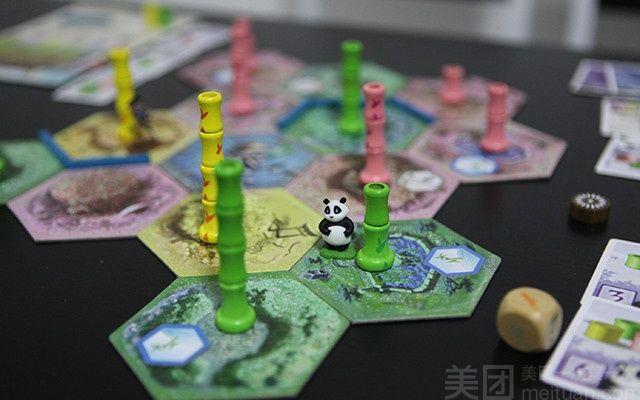 熊猫人原创桌游吧-美团