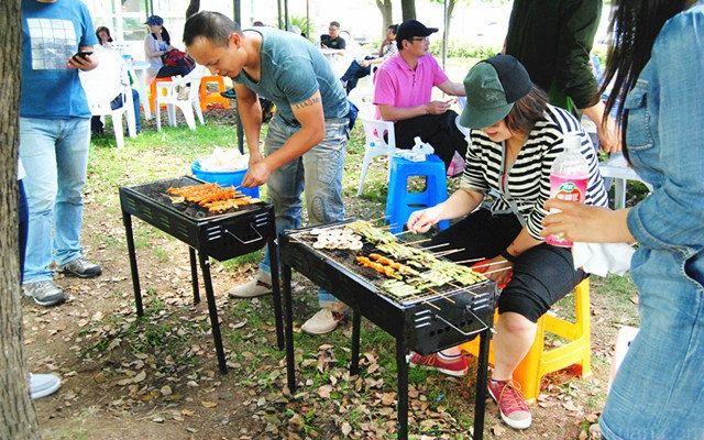 幼儿园烧烤食材图片库