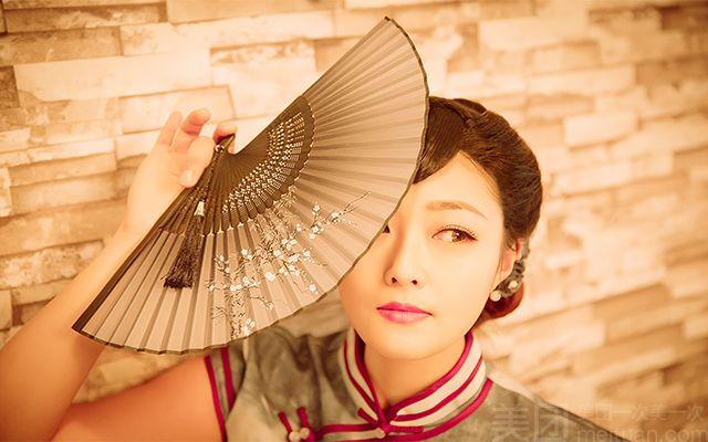【米苏摄影工作室】复古个人艺术照 儿童写真闺蜜照