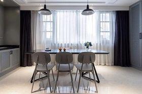 90平米三室两厅混搭风格餐厅效果图