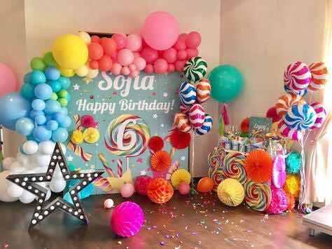 糖果派对 甜品去布置装饰